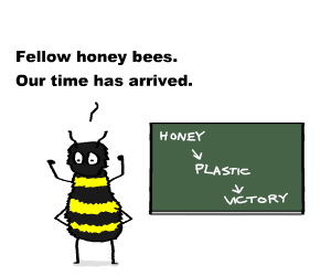 plastic-honey-bee-1